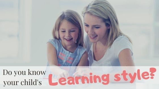 Learning styles for kids